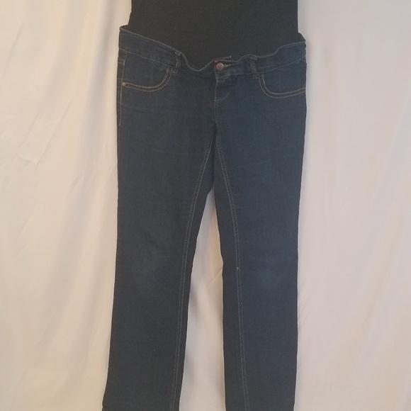 4bd824dfc278 Mama-Licious Womens Maternity Jeans waist adj. siz